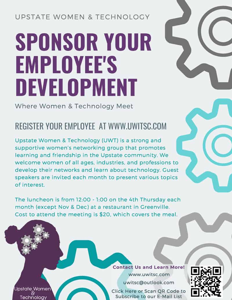 Sponsor your employee's development